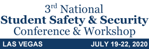 3rd National Student Safety & Security Conference & Workshop, Las Vegas, 2020